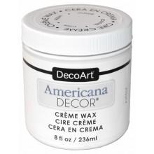 Cera en crema blanca Americana decor 236 ml