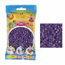 Hama Beads 1000 piezas Midi violeta