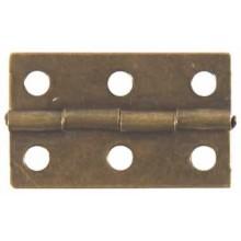 Bisagra color bronce 3 cm