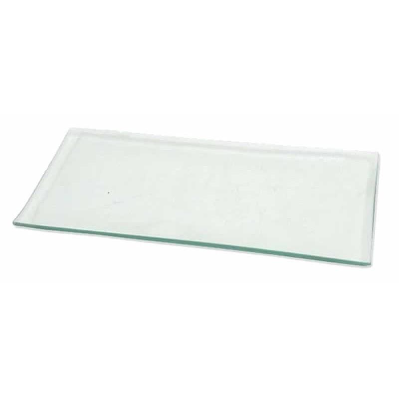 Bandeja cristal manualidades rectangular 16 x 34 cm