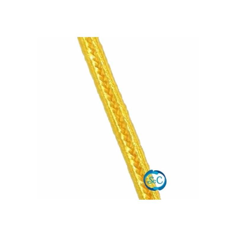 Cordón Soutache amarillo 3 mm