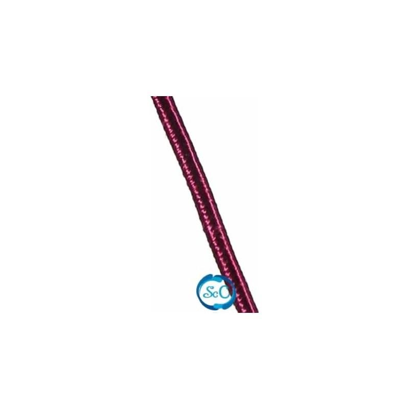 Cordón Soutache Burdeos 3 mm