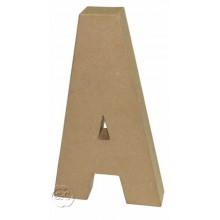 letra de carton A