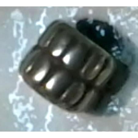 Cilindro labrado plata antigua