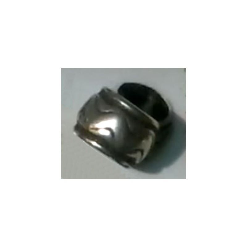 Cilindro labrado 3 plata antigua