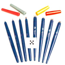 Perforador pergamano 5 agujas