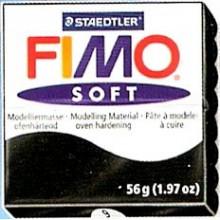 FIMO soft 56 gr. Negro