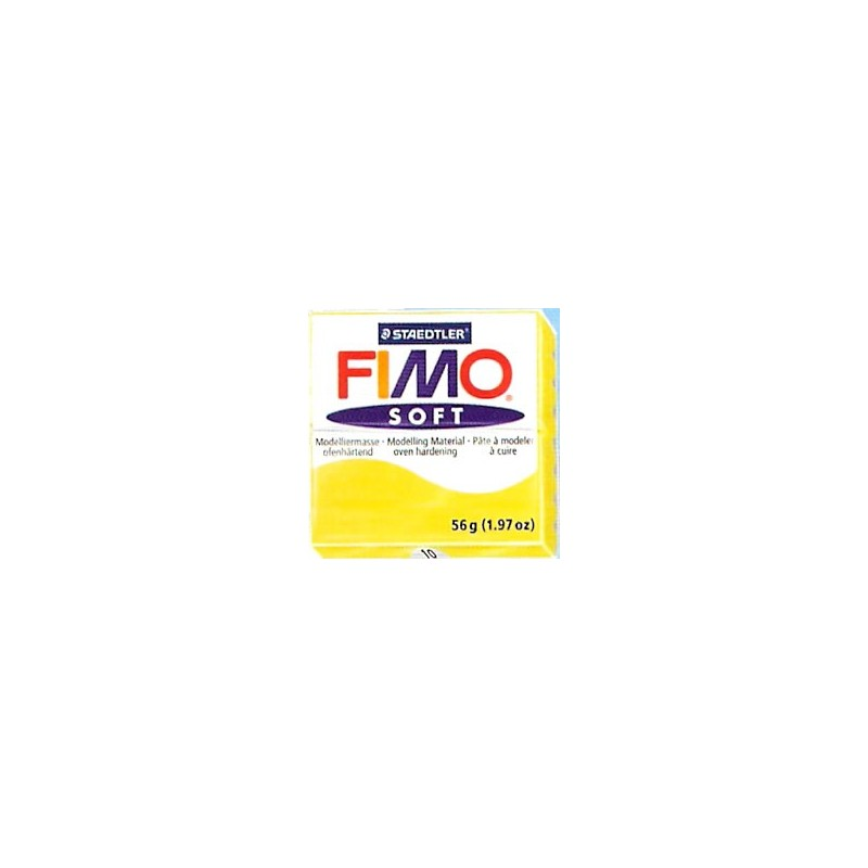 FIMO soft 56 gr. Amarillo Limon