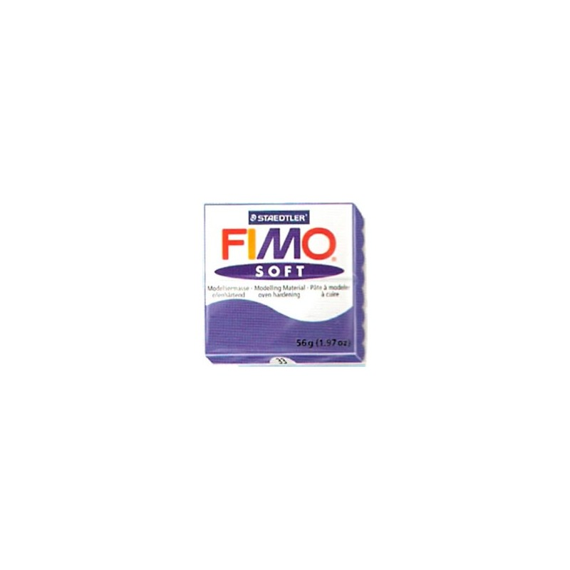 FIMO soft 56 gr. Azul Brillante