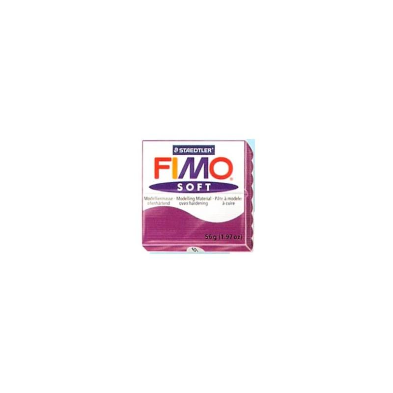 FIMO soft 56 gr. Violeta Purpura