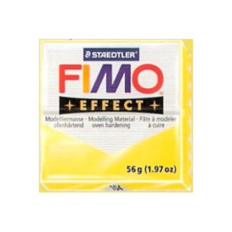 FIMO EFFECT amarillo translucido nº 104