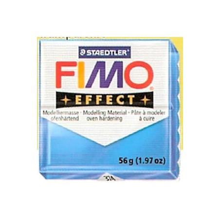 FIMO EFFECT Azul translucido nº 374