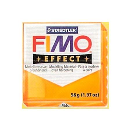 FIMO EFFECT Naranja translucido nº 404