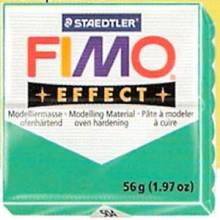 FIMO EFFECT Verde Transparente nº 504