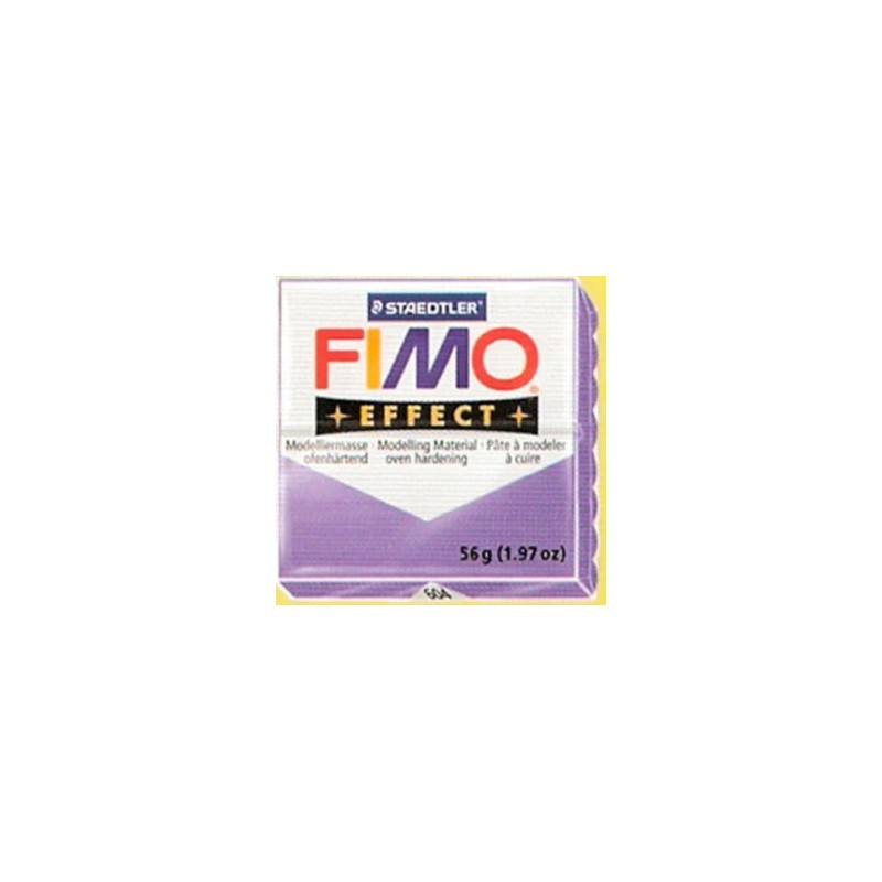 FIMO EFFECT Morado Transparente nº 604