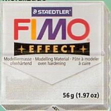 FIMO EFFECT PLATA METALICO Nº81
