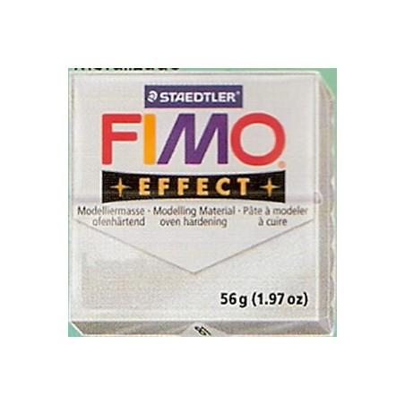 FIMO EFFECT PLATA METALICO Nº 81