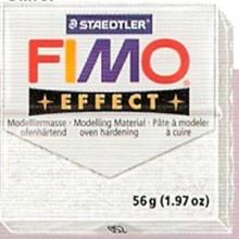 FIMO EFFECT BLANCO GLITTER.Nº52