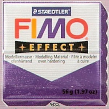FIMO EFFECT AZUL GLITTER Nº302