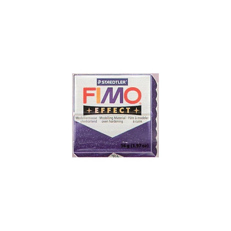 FIMO EFFECT MORADO GLITTER Nº602