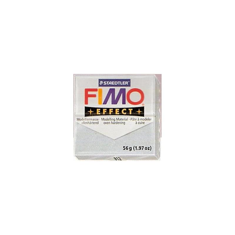 FIMO EFFECT PLATA GLITTER Nº812