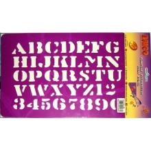 Plantilla abecedario y numeros Brico