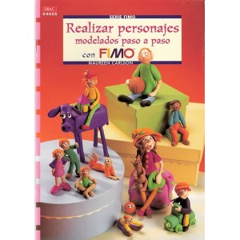 Libro DRAC 04025 Realizar personajes con Fimo