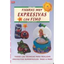 Figuras muy expresivas con fimo libro DRAC 04013