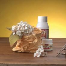 Paso 4 - Deje secar y despues puede pintar con pinturas, rotuladores, etc