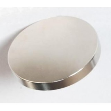 IMAN CIRCULAR EXTRAFUERTE PLATEADO 10 mm