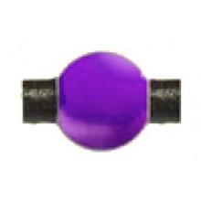 Bola redonda morado con aguas, 10 mm