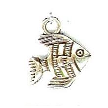 Anilla plateada, 6 mm x 1,5