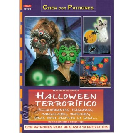 Halloween Terrorifico libro DRAC 13002