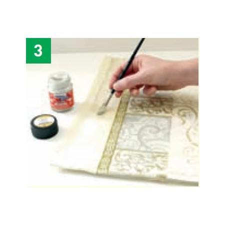 3-Dejar secar (aproximadamente 24h.) Acabado: Planchar con la tela del revés (aproximadamente 5 minutos).