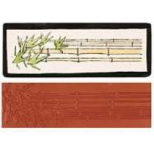 Sello estampacion Mayco, Bambu