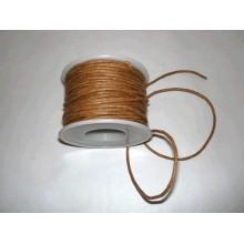 Cordon cl. simil cuero, Marron, 4 metros, 2 mm