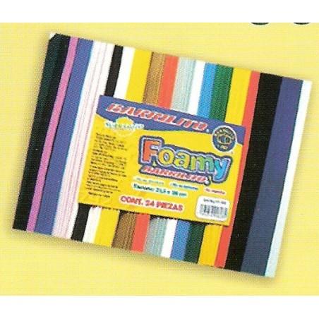 Surtid 10 planchas 21,5 cm x 28 cm 2 mm