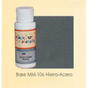 Base efecto oxidante Hierro-Acero Magic Metallics