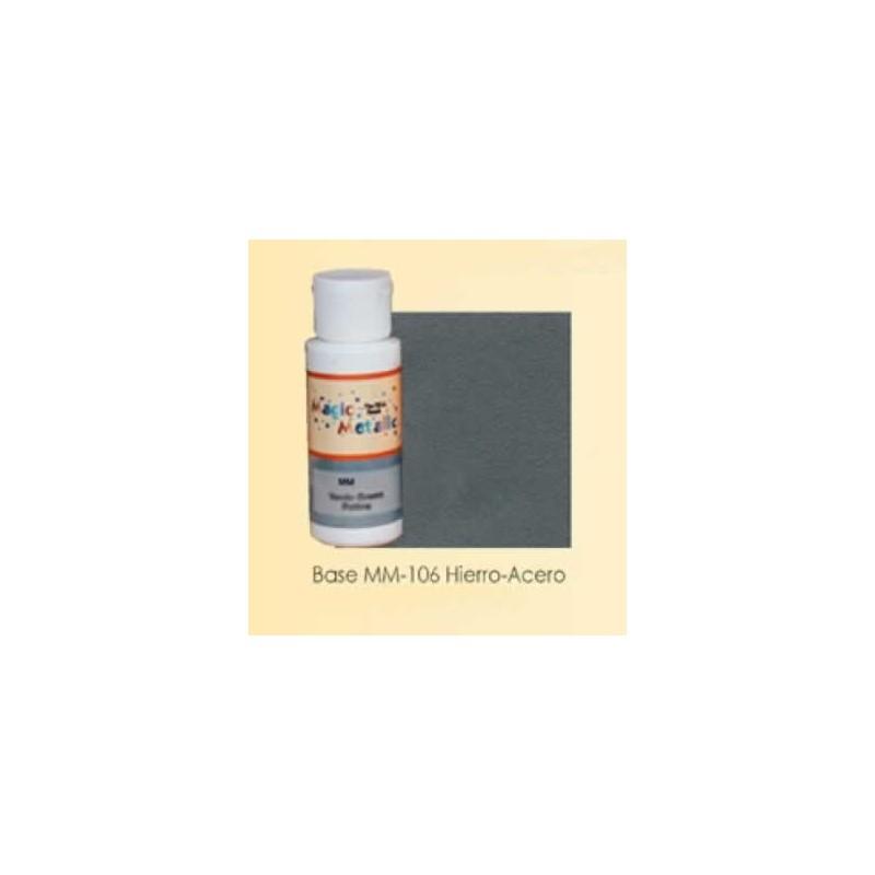 Base efecto oxidante Hierro-Acero Magic Metallics