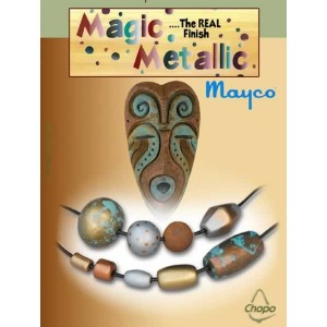 Base efecto oxidante Magic Metallics Ejemplo 1