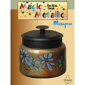 Base efecto oxidante Magic Metallics Ejemplo 4