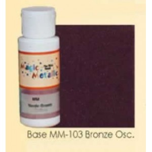 Base efecto oxidante Bronce oscuro Magic Metallics
