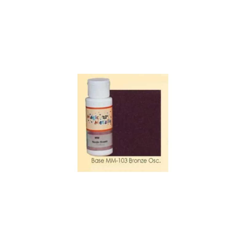 Base efecto oxidante Bronce oscuro Magic Metallics