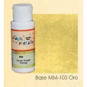 Base efecto oxidante Oro Magic Metallics