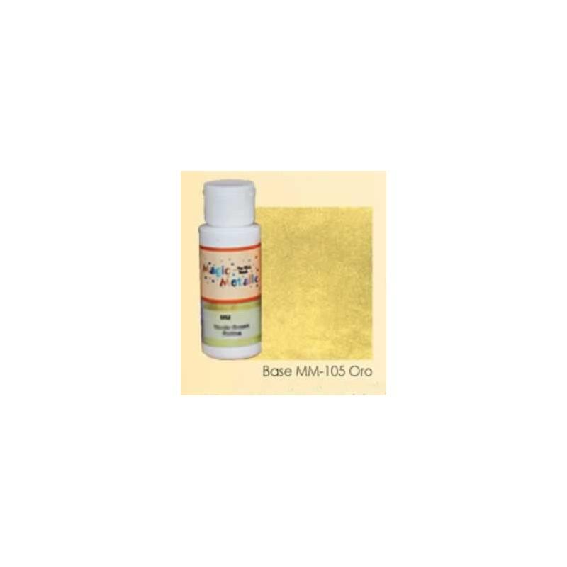 Base efecto oxidante Oro Magic Metallics