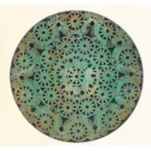 Pátina Oxido verde Magic Metallics ejemplo 2