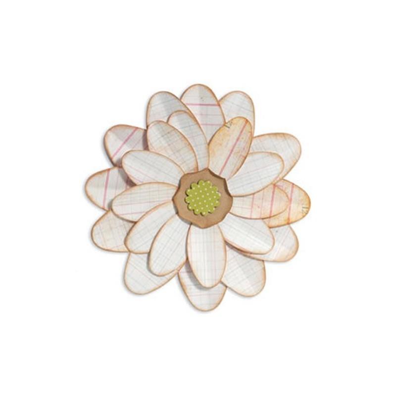 Troquel Bigz  Petalo de Flor