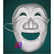 Mascara feliz de carnaval