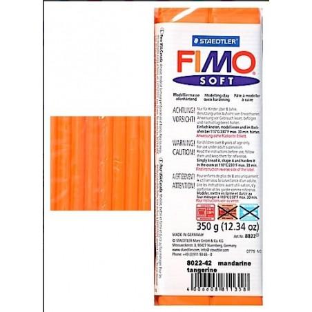 Pastilla de FIMO soft de 350 gr. Naranja