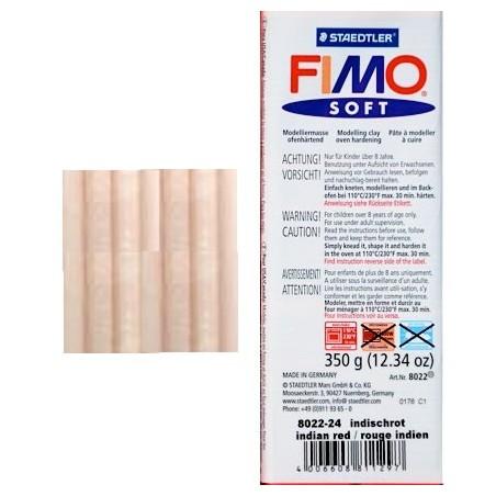 Pastilla de FIMO soft de 350 gr. Carne